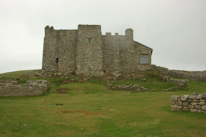 Castle - rebuilt by Thomas Bushell to defend the island