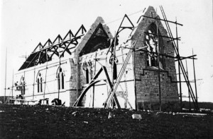 Construction of the current church