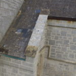 Missing and damaged roof tiles lead to decaying timbers