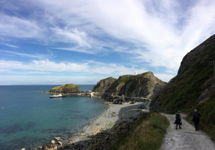 A beautiful day on Lundy